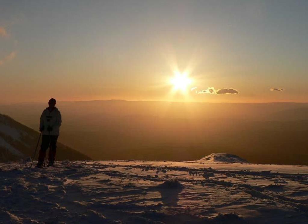 rando coucher de soleil + apéro