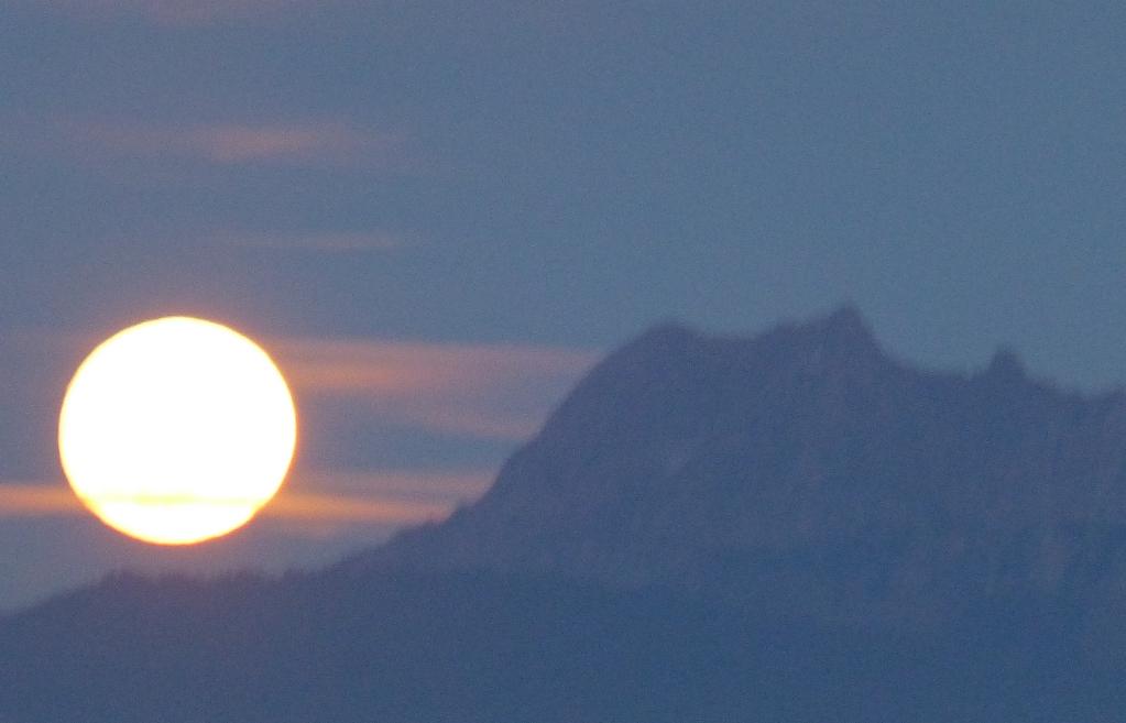 Rando pleine lune avec repas montagnard