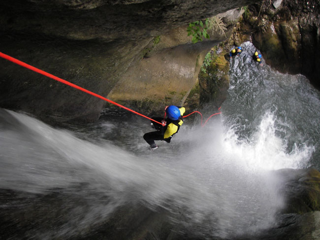 CANYONING à BALME (Cluses)