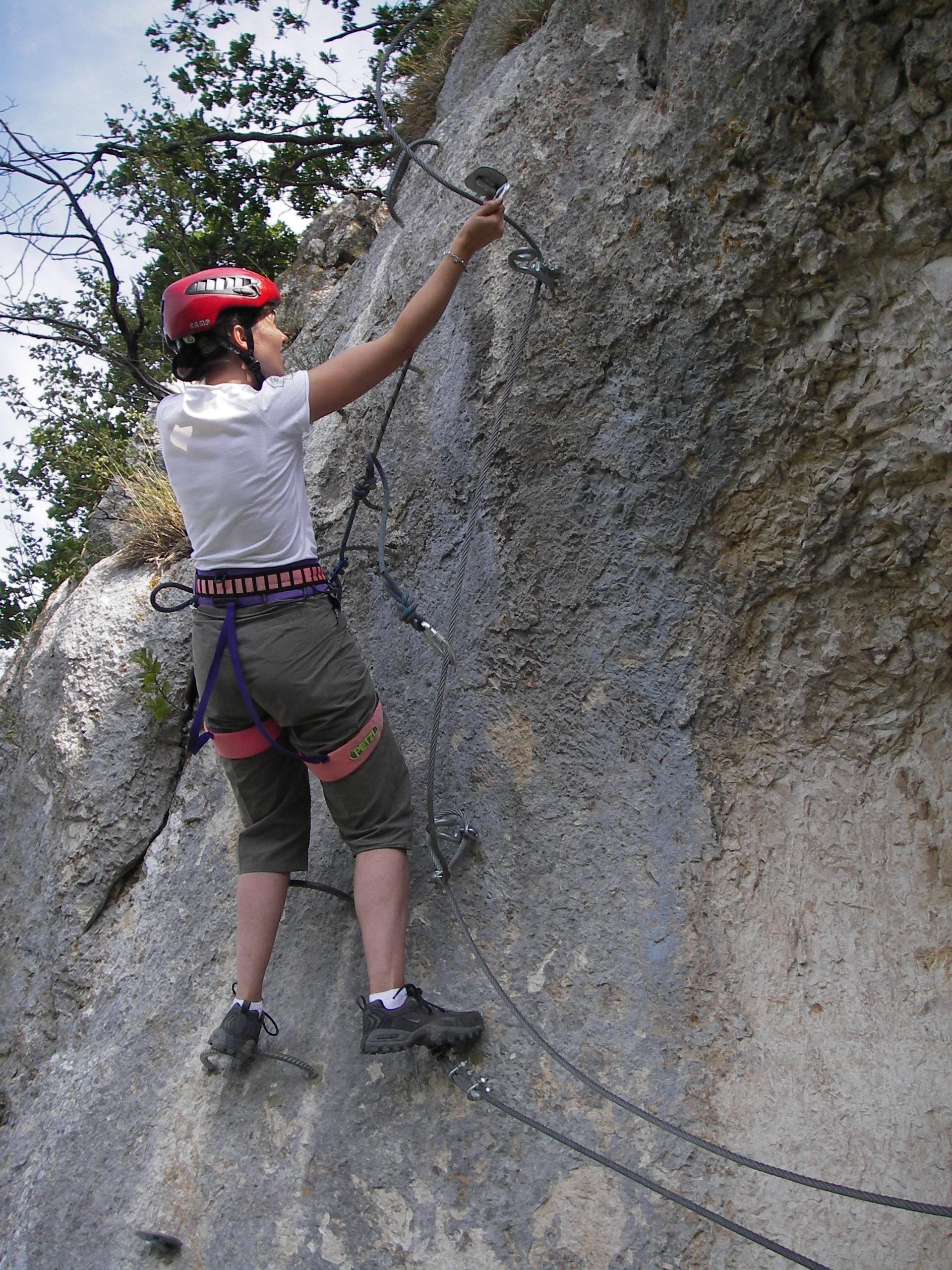 VIA FERRATA - entre escalade et randonnée