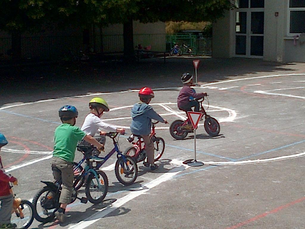Le Vélo à l'école