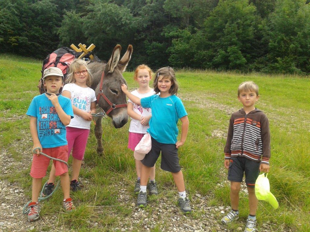 Randonnée au pas de l'âne - Anniversaire Enfants
